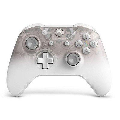 Controle Wireless Phantom White - Xbox One