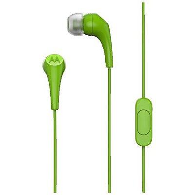 Fone de Ouvido Motorola Earbuds 2 Verde