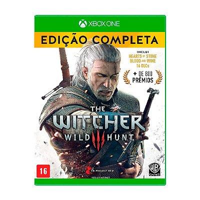 Jogo The Witcher 3 Wild Hunt Complete Edition - Xbox One Seminovo