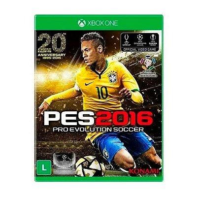 Jogo PES 2016 - Xbox One Seminovo