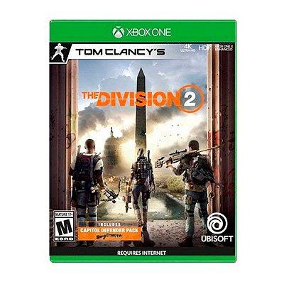Jogo Tom Clancys The Division 2 - Xbox One Seminovo