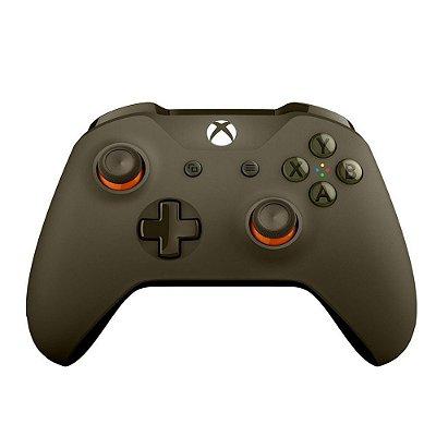 Controle Wireless Verde / Laranja - Xbox One