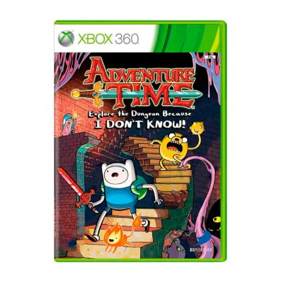 Jogo Adventure Time: Explore The Dungeon Because I Don't Know - Xbox 360 Seminovo