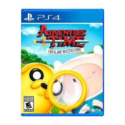 Jogo Adventure Time Finn & Jake Investigations - PS4 (Seminovo)