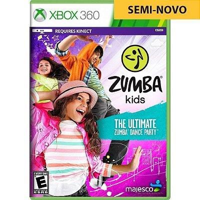 Jogo Zumba Kids - Xbox 360 Seminovo