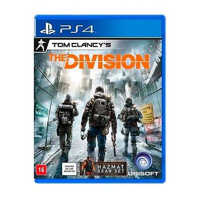 Jogo Tom Clancys The Division - PS4 Seminovo