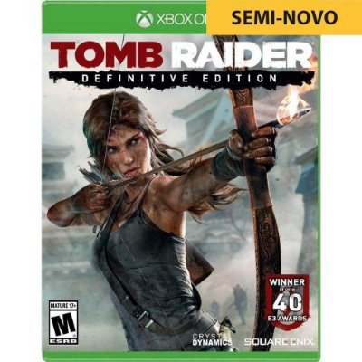 Jogo Tomb Raider Definitive Edition - Xbox One (Seminovo)