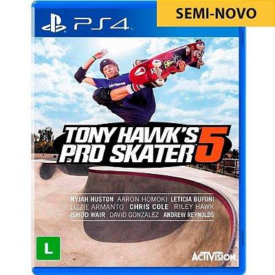 Jogo Tony Hawk Pro Skater 5 - PS4 Seminovo