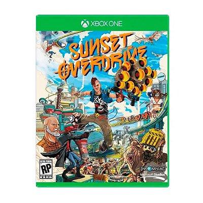 Jogo Sunset Overdrive - Xbox One Seminovo