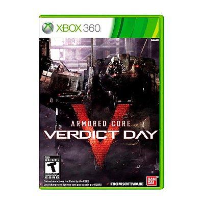 Jogo Armored Core Verdict Day - Xbox 360