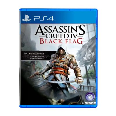 Jogo AssassinS Creed IV Black Flag - PS4