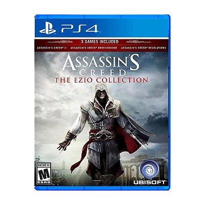 Jogo AssassinS Creed The Ezio Collection - PS4