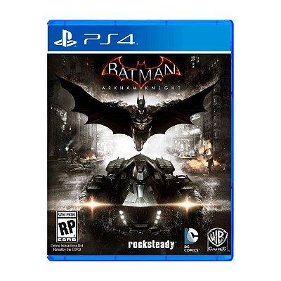 Jogo Batman Arkham Knight - PS4 Seminovo