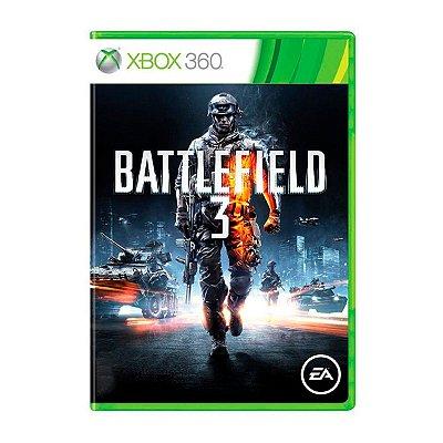 Jogo Battlefield 3 - Xbox 360 Seminovo