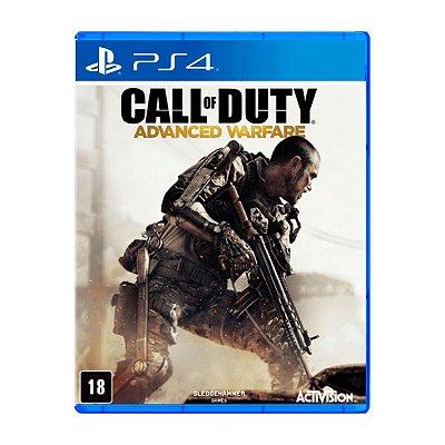 Jogo Call of Duty Advanced Warfare - PS4 (Seminovo)