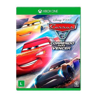 Jogo Carros 3 Correndo para Vencer - Xbox One