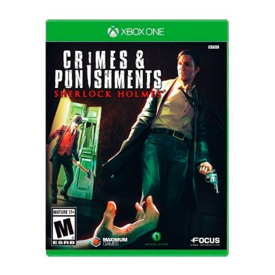 Jogo Crimes & Punishments Sherlock Holmes - Xbox One