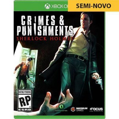Jogo Crimes & Punishments Sherlock Holmes - Xbox One (Seminovo)