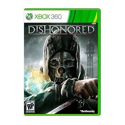 Jogo Dishonored - Xbox 360 Seminovo