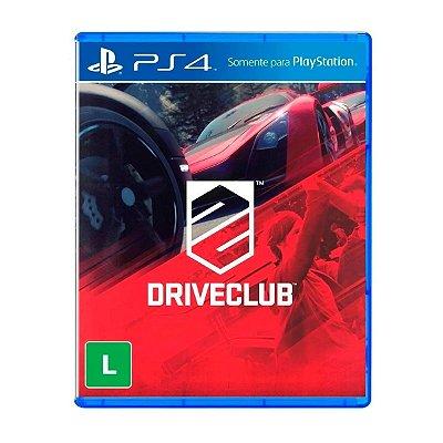 Jogo DriveClub - PS4  Seminovo