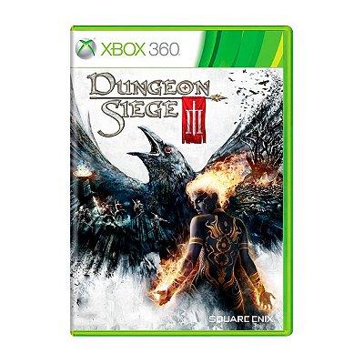 Jogo Dungeon Siege 3 - Xbox 360 Seminovo