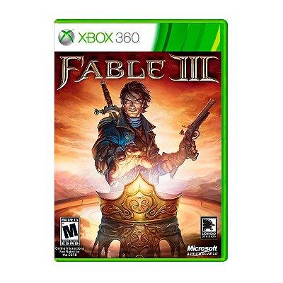 Jogo Fable 3 - Xbox 360 Seminovo
