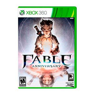 Jogo Fable Anniversary - Xbox 360 Seminovo