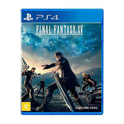 Jogo Final Fantasy XV - PS4 Seminovo