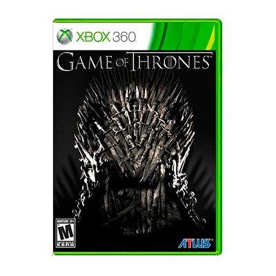 Jogo Game of Thrones - Xbox 360