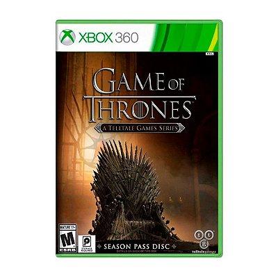 Jogo Game of Thrones A Telltale Games Series - Xbox 360