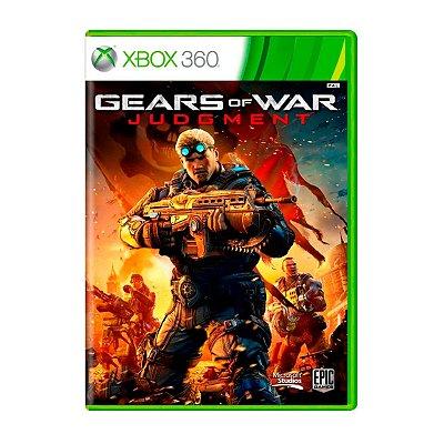 Jogo Gears of War Judgment - Xbox 360 Seminovo