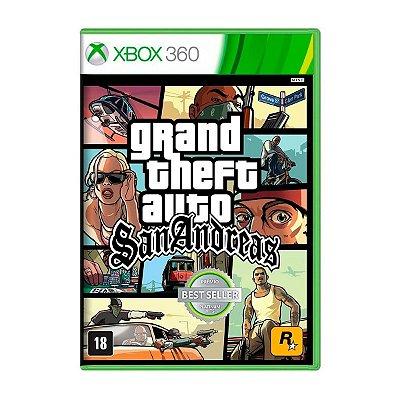 Jogo GTA San Andreas - Xbox 360