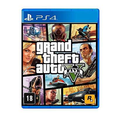 Jogo GTA V - PS4 (Seminovo)