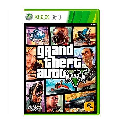 Jogo GTA V - Xbox 360 Seminovo