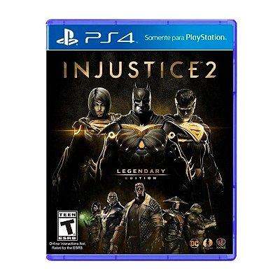 Jogo Injustice 2 Legendary Edition - PS4