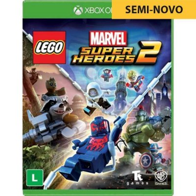 Jogo LEGO Marvel Super Heroes 2 - Xbox One (Seminovo)