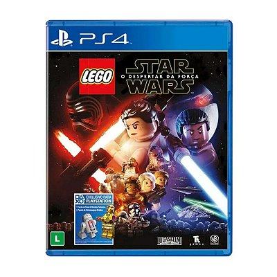 Jogo LEGO Star Wars O Despertar da Força - PS4 Seminovo