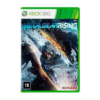 Jogo Metal Gear Rising Revengeance - Xbox 360 Seminovo