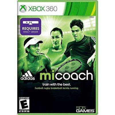 Jogo miCoach By Adidas Kinect - Xbox 360