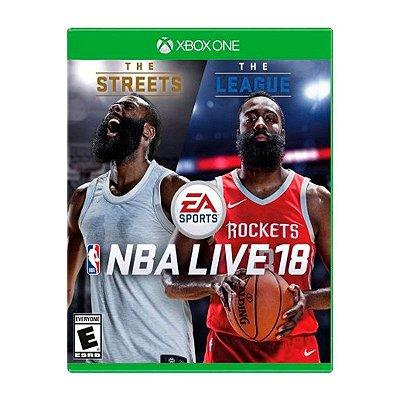 Jogo NBA Live 18 - Xbox One Seminovo