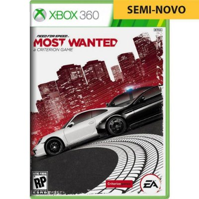 Jogo Need For Speed Most Wanted - Xbox 360 Seminovo