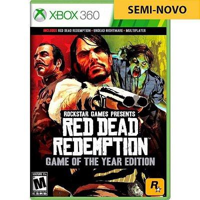Jogo Red Dead Redemption Edição Jogo do Ano - Xbox 360 (Seminovo)