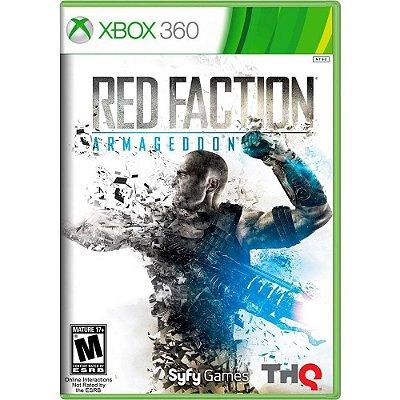Jogo Red Faction Armageddon - Xbox 360