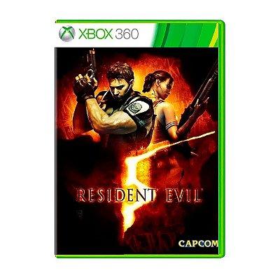 Jogo Resident Evil 5 - Xbox 360 Seminovo