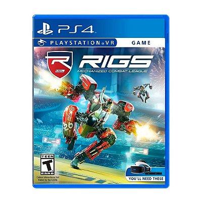 Jogo Rigs Mechanized Combat League VR - PS4