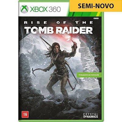 Jogo Rise of The Tomb Raider - Xbox 360 Seminovo
