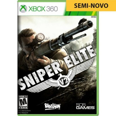 Jogo Sniper Elite V2 -Xbox 360 (Seminovo)