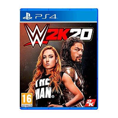 Jogo WWE 2K20 - PS4 Seminovo