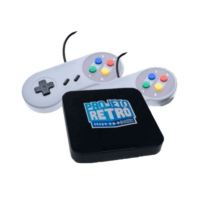 Console Fliperama Box Retrô Light 3.800 Jogos + 2 Controles