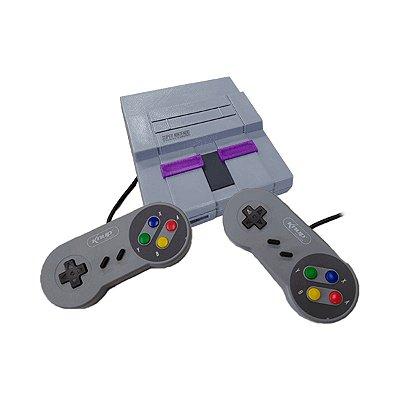 Console Fliperama Box Retrô Mini SNES 4.000 Jogos + 2 Controles